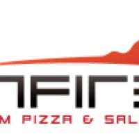 Photo taken at Spinfire Custom Pizza and Salads by Kj y. on 10/11/2014