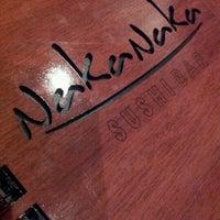 Photo taken at Naka Naka Sushi Bar by Victor B. on 10/13/2012
