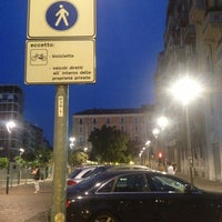Photo taken at Piazza Gramsci by Andrea R. on 7/23/2013