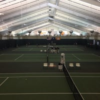 Photo taken at Hoke Sloan Tennis Center by Rob A. on 5/9/2014