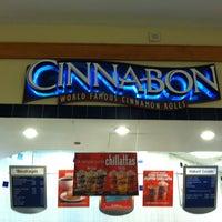 Photo taken at Cinnabon by Delia K. on 1/5/2013