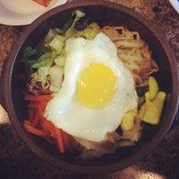 Photo taken at Kim Baek Korean Restaurant by Ian on 10/17/2013