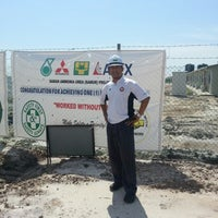 Photo taken at Camp Samur Petronas Project by Chef Shahreen S. on 7/27/2013