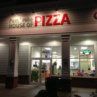 Photo taken at Pembroke House Of Pizza by David R. on 10/3/2012