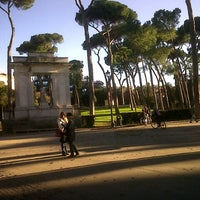 Photo taken at Villa Borghese by Aninha Feijo on 12/29/2012