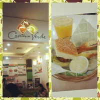 Photo taken at Cafeteria Verde Galleria by Amy A. on 2/23/2013