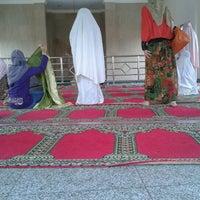 Photo taken at Masjid Al Hasanah by Rifka D. on 10/15/2012