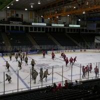 Photo taken at Amarillo Civic Center Ice Rink by Brady K. on 10/26/2012