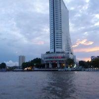 Photo taken at Khlong San Pier by Aurélien P. on 4/16/2013