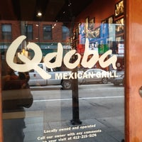 Photo taken at Qdoba Mexican Grill by Brian R. on 11/5/2012