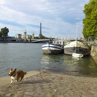 Photo taken at La Seine by Bebe J. on 10/13/2013