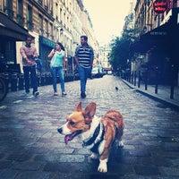 Photo taken at Rue de la Harpe by Bebe J. on 6/23/2013