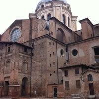 Photo taken at Piazza Leon Battista Alberti by Fizu de su Conte on 11/3/2012