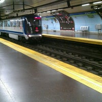 Photo taken at Metro Aluche by Yassin M. on 9/18/2012