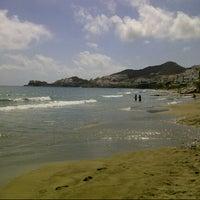 Photo taken at Playa de San José by Mari Carmen C. on 9/14/2012