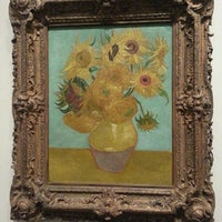 Photo taken at Sunflowers by Vincent Willem van Gogh by Katrina G. on 9/21/2013