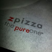 Photo taken at zpizza by Jeff D. on 10/16/2012