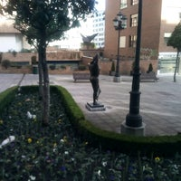 Photo taken at Plaza De La Paz by KIKE A. on 2/6/2017