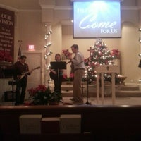 Photo taken at Osterville Baptist Church by Tyler C. on 12/24/2012