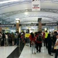 Photo taken at Terminal 3 by Carissa G. on 5/10/2013