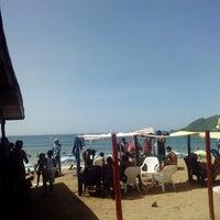 Photo taken at Playa Puerto Francés by andrjuXa on 8/17/2014
