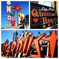 Photo taken at The Neon Museum by Jenny L. on 1/7/2013