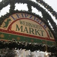 Photo taken at Leipziger Weihnachtsmarkt by Tino C. on 12/9/2012