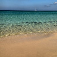 Photo taken at Playa de El Balneario by Enrique C. on 8/18/2013