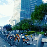 Photo taken at Youbike 信義廣場 (台北101) Xinyi Square (Taipei 101) by Shu L. on 12/29/2012