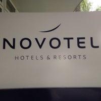 Photo taken at Novotel by Pierre V. on 4/21/2017