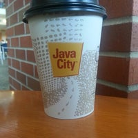 Photo taken at Java City by . on 8/23/2013