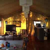 Photo taken at Camping du Buisson by Dasha B. on 9/22/2013