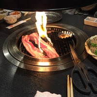 Photo taken at ハイカジ Korean Kitchen まだん お初天神店 by 히로코 on 10/30/2016