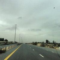Photo taken at Al Khawaneej Road by Mohammed A. on 1/11/2013