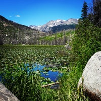 Photo taken at Cub Lake Trail by *iVy on 7/10/2016