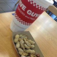 Photo taken at Five Guys by Zach B. on 9/29/2012