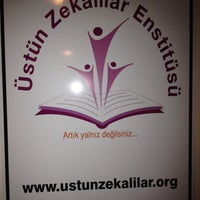 Photo taken at Üstün Zekalılar Enstitüsü by EmrAh Y. on 12/7/2013