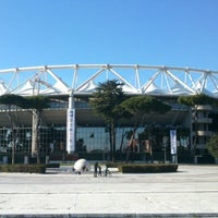 Photo taken at Stadio Olimpico by Andrea on 2/10/2013