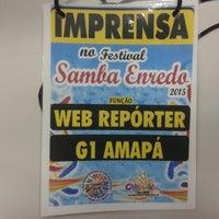 Photo taken at Tv Amapá by John P. on 1/31/2015