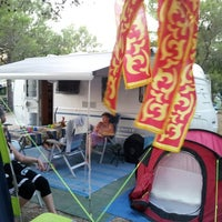 Photo taken at Camping Kovačine by Alessandro B. on 8/11/2013