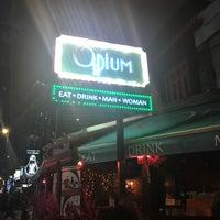 Photo taken at Opium KL by Baris P. on 4/15/2018