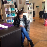 Photo taken at Tao Hair and Beauty by Mihaela on 4/8/2014