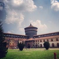 Foto scattata a Castello Sforzesco da Александр К. il 7/21/2013