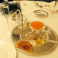 Photo taken at Le 144 - Restaurant Petrossian by Александр К. on 12/21/2013