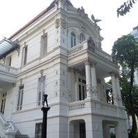Photo taken at Palacete das Artes by Jose Alberto on 11/15/2012