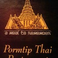 Photo taken at Pormtip Thai BBQ Seafood Restaurant by BöbÖ r. on 3/27/2013
