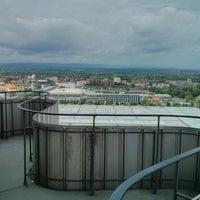 Photo taken at Hermes-Turm by Schakaline A. on 5/23/2014