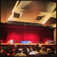 Photo taken at Colden Center Auditorium by Rafael on 6/1/2013