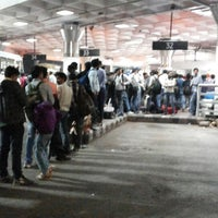 Photo taken at ISBT Kashmere Gate by Sandeep S. on 11/1/2013