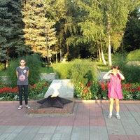 Photo taken at Мемориальный комплекс войнам-интернационалистам by Galina T. on 7/30/2013